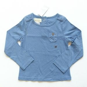 Other - Blue Long Sleeve Top